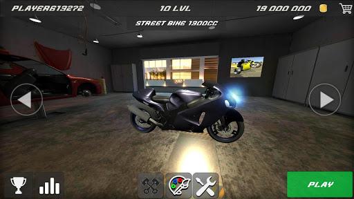 Wheelie Rider 3D - Traffic rider wheelies rider 1.0 screenshots 11