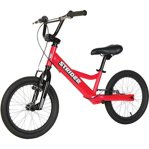 Strider Sports 16 Sport Balance Bike Red