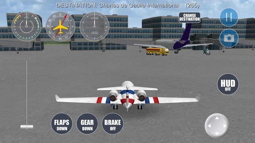 android Airplane Paris Screenshot 12