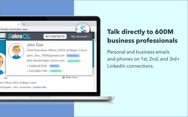 FREE Linkedin Email Finder: SalesQL