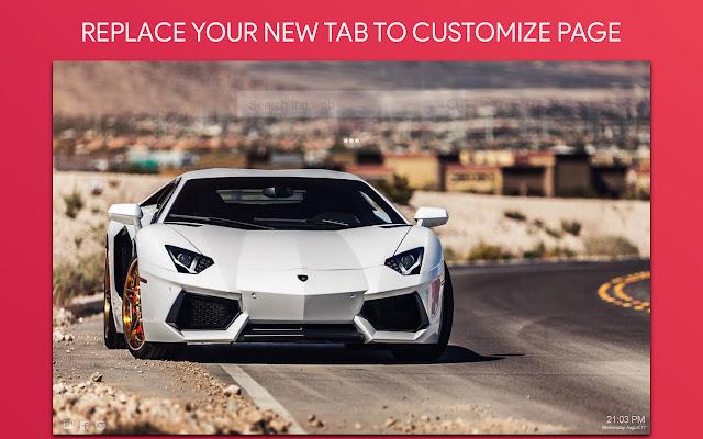 Lamborghini Wallpaper HD Custom New Tab