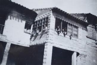 """Photo: Mirador del abuelo """"Perico"""". Proveedor: Paqui Díez González. Año: 1945."""