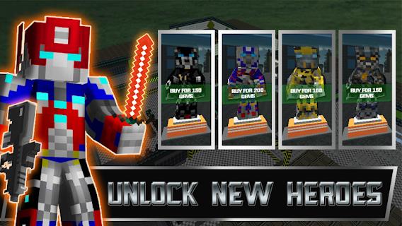 Transforming Survival Games screenshot 01