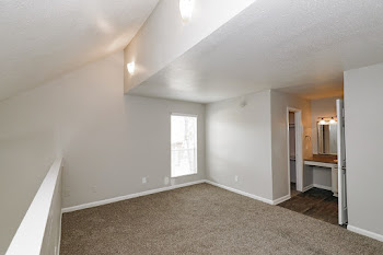 A2 Bedroom with Natural Light and Attached Bathroom