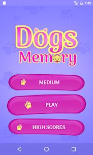 Cute Dogs Memory Matching Game 1.2 APK + MOD (Unlocked) 2