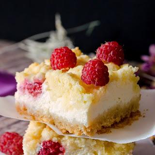 {Raspberry Cheesecake Bars}
