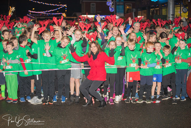 RNLI Reindeer Run start line