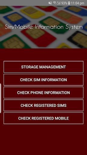 Pakistan Sim Information 2.47 Screenshots 2