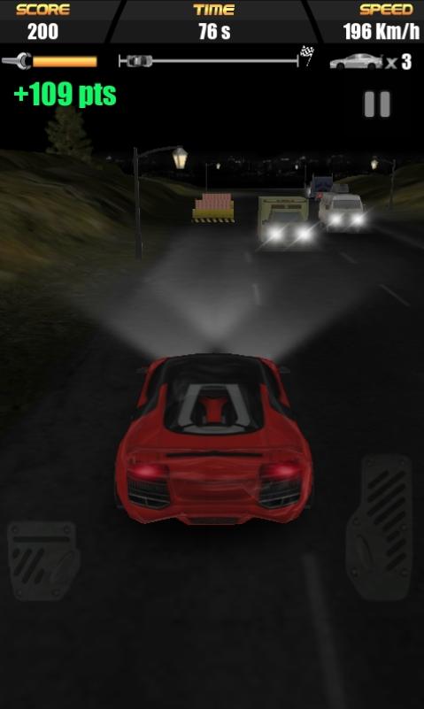 Скриншот MORTAL Racing 3D