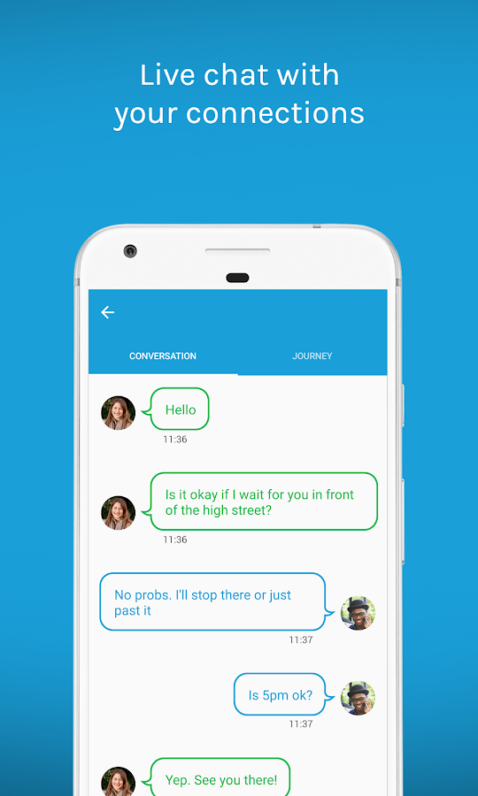 Liftshare- screenshot