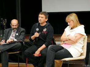 Photo: Miklósi László, Gyurgyák János és Schmidt Mária