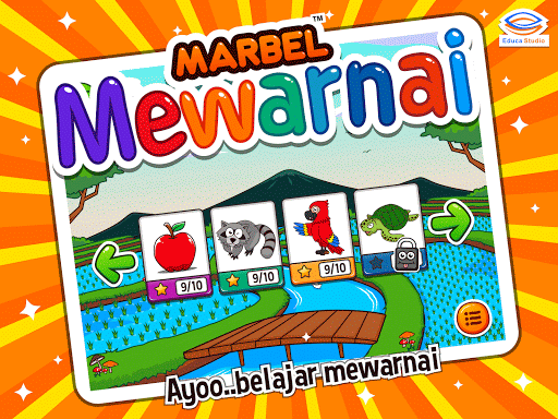 Belajar Mewarnai Gambar lucu бағдарламалар (apk) Android/PC/Windows үшін тегін жүктеу screenshot