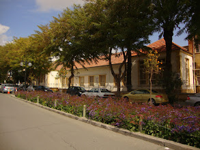 Photo: The School in the opposite side of the Archbishop house in old Nicosia