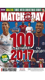 BBC Match of the Day Magazine - náhled