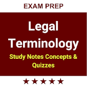 Legal Terminology & Flashcards 2018