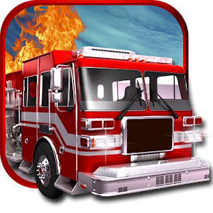 Fire Truck Hill Climb Driver for PC and MAC