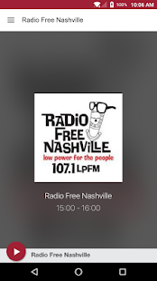 Radio Free Nashville- screenshot thumbnail