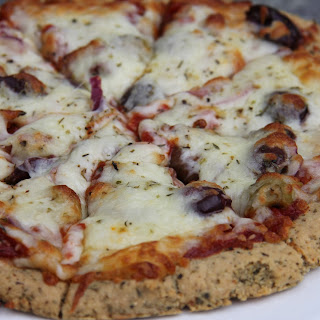 Almond Flour Pizza (Low Carb and Gluten Free).