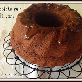 Chocolate Rum Bundt Cake