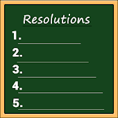 Resolutions for 2017 New Year