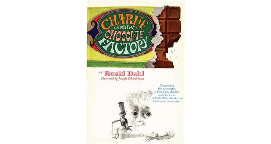 children's books: Charlie and the chocolate factory