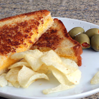 Basic Grilled Cheese Sandwich.