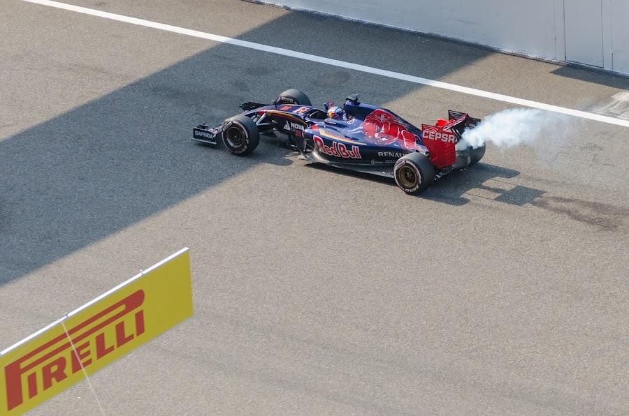 Max Verstappen - Engine Failure by Gene Walker - Sports & Fitness Motorsports ( toro rosso, 2015, max verstappen, asia, sport, f1, china,  )