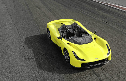Famous race car manufacturer Dallara has revealed its first road car, the Stradale.    Picture: DALLARA