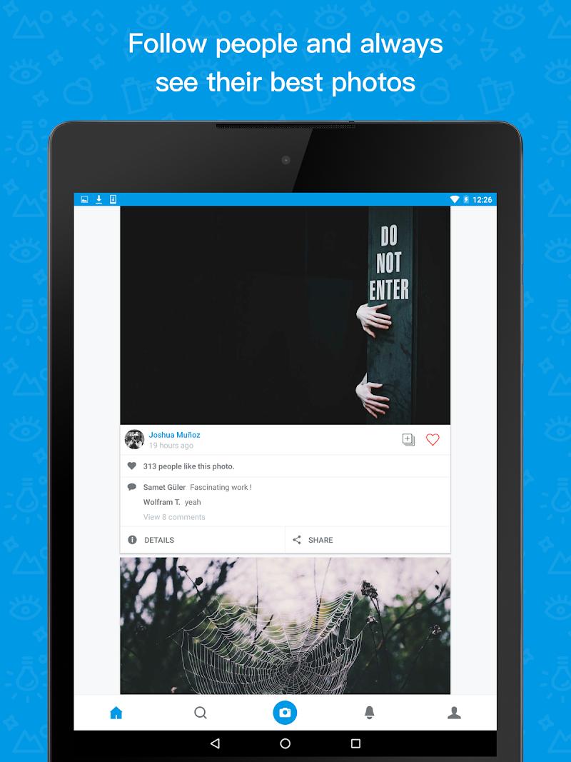500px – Discover great photos Screenshot 7