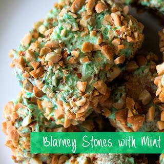 Blarney Stones with Mint Buttercream