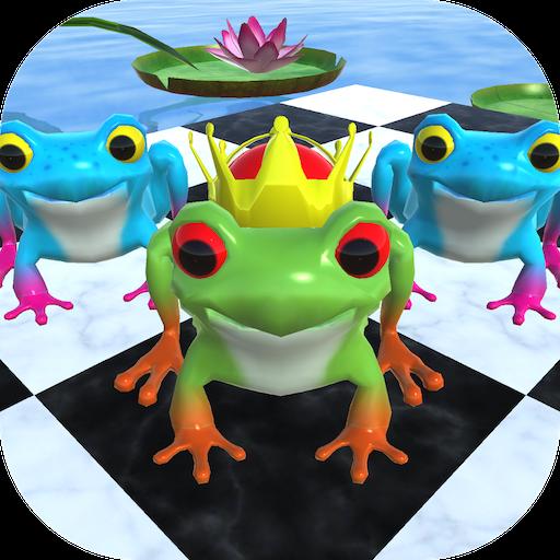 カエル チェッカー 棋類遊戲 App LOGO-硬是要APP