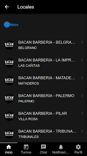 Bacan barberu00eda y peluqueru00eda 1.5 screenshots 2