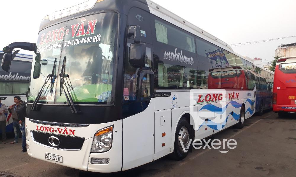 Xe Long Vân từ Sài Gòn đi Kon Tum