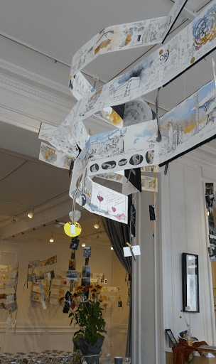 expo CARNET DE VOYAGE Aigle Noir FONTAINEBLEAU sept 2019_20