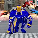 Iron Superhero Rescue : Flying Superhero Games icon
