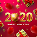 New Year Photo Frame & Christmas Stickers icon