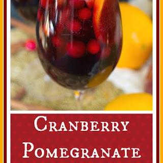 Cranberry-Pomegranate Sangria