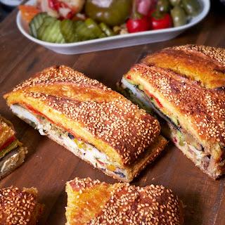 Pressed Roast Vegetable Sandwich Recipe