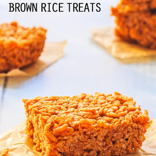 Chewy & Sweet Brown Rice Treats