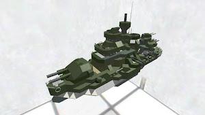 ファ◯コンウォーズ風戦艦