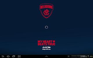 Screenshot of Melbourne Official App