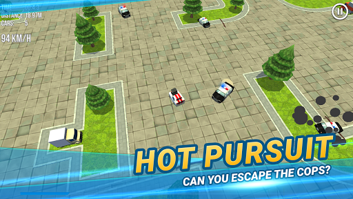 Code Triche Thief vs Police: Mini Car Racing APK MOD screenshots 4