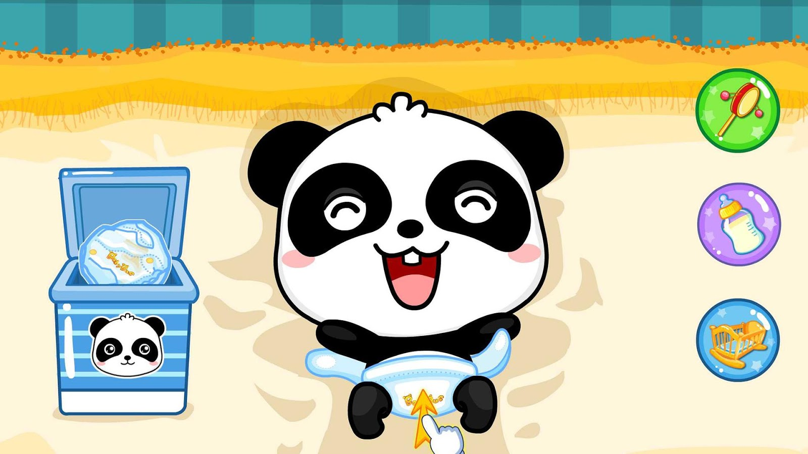 baby panda care games online