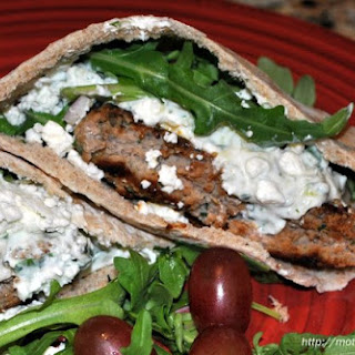 Turkey Burgers with Tzatziki Sauce
