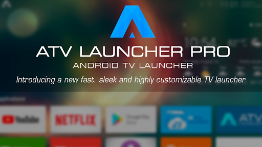 ATV Launcher Pro - Launcher for for Android TV set-top boxes, TVs and tablets