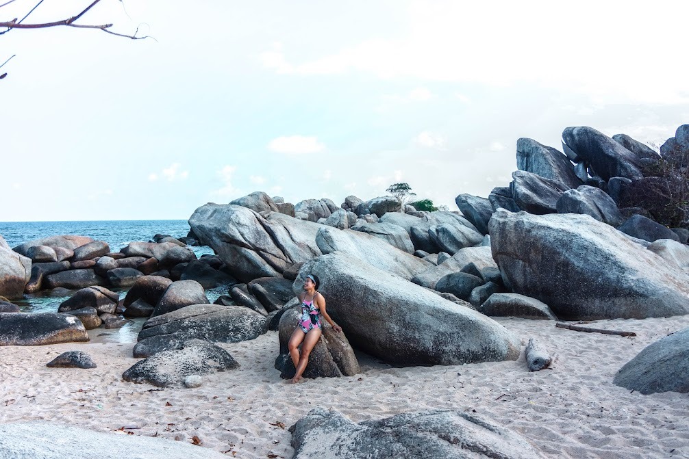 kolam bidadari belitung