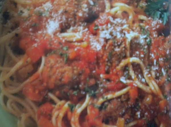 My Meaty Pasta Sauce Recipe