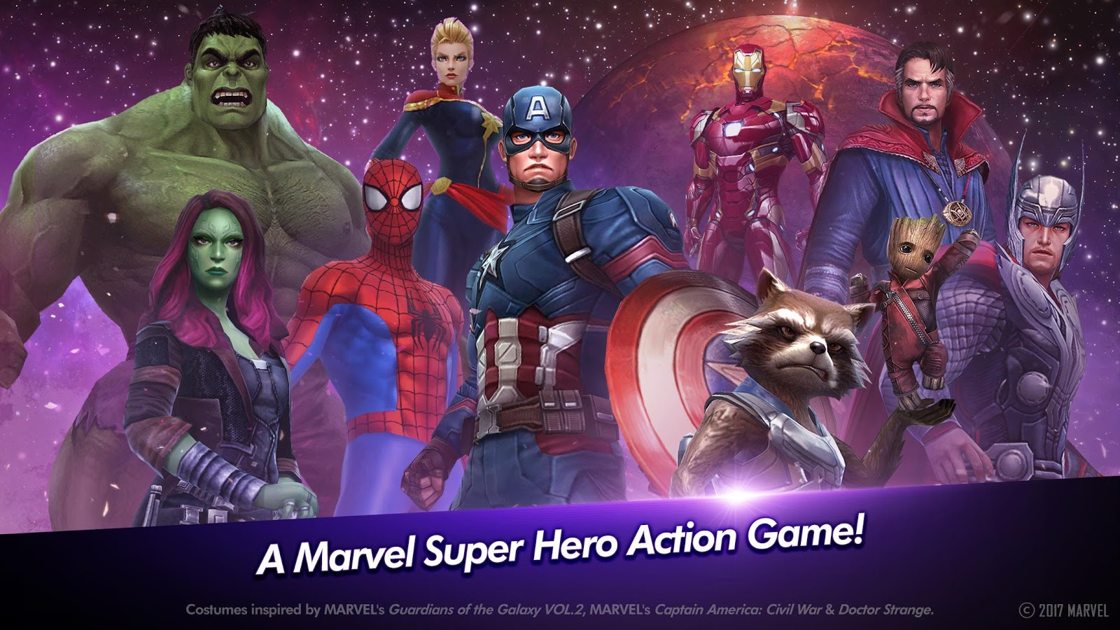 MARVEL Future Fight – zrzut ekranu
