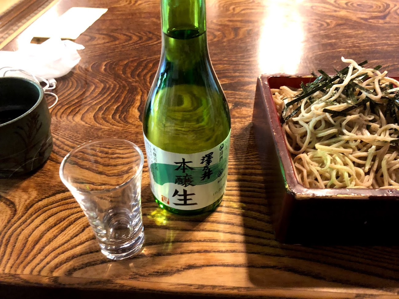 "local sake ""Sawanoi"""