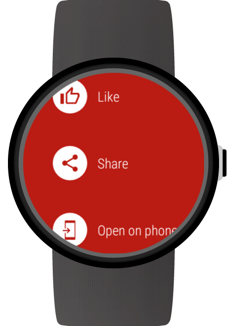 Video for Wear OS (Android Wear) & YouTube screenshots